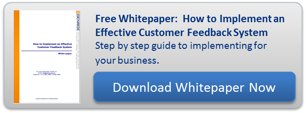 customer feedback system whitepaper download